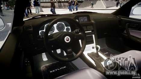 Nissan Skyline GT-R R34 2002 v1 pour GTA 4 est un droit