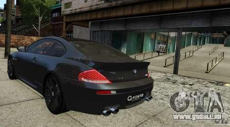 BMW M6 Hurricane RR pour GTA 4 est une gauche