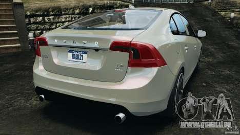 Volvo S60 R Design pour GTA 4 Vue arrière de la gauche