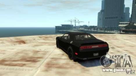 Dodge Challenger SRT8 pour GTA 4 est un droit