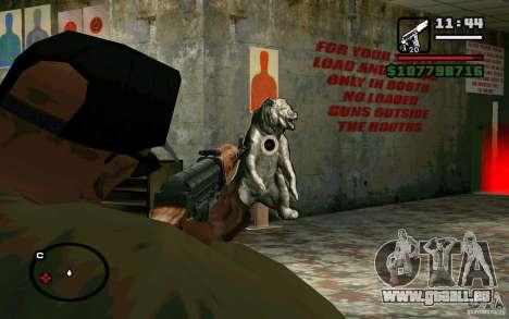 Dragunov sniper rifle v 2.0 pour GTA San Andreas quatrième écran
