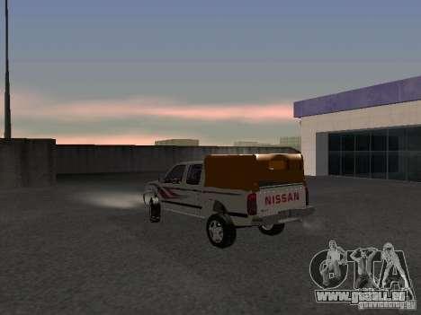 Nissan Pickup für GTA San Andreas zurück linke Ansicht