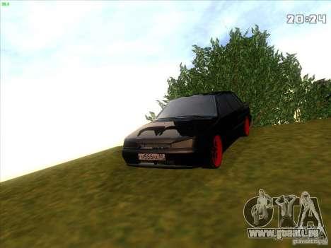 VAZ 2115 diable Tuning pour GTA San Andreas vue de droite