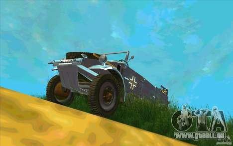 Kuebelwagen v2.0 normal pour GTA San Andreas vue arrière