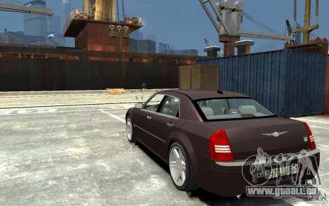 Chrysler 300C pour GTA 4 Vue arrière de la gauche