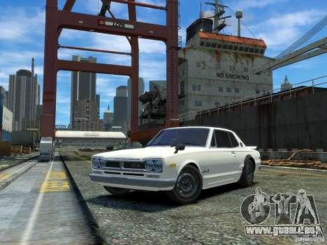 Nissan Skyline 2000 GTR pour GTA 4