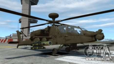 AH-64D Longbow Apache v1.0 pour GTA 4