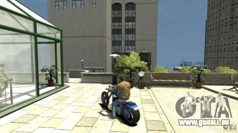 The Lost and Damned Bikes Hexer für GTA 4 hinten links Ansicht