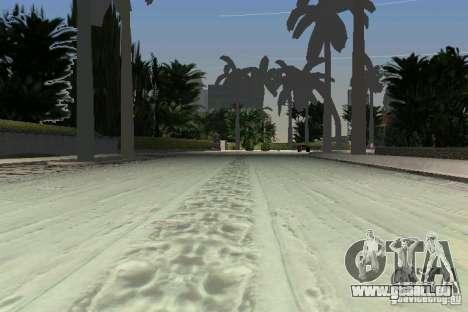 Snow Mod v2.0 pour GTA Vice City le sixième écran