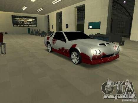 Blut an Maschinen für GTA San Andreas her Screenshot
