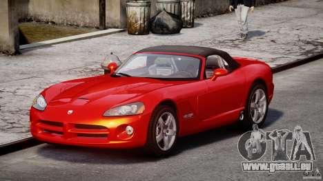 Dodge Viper SRT-10 2003 1.0 pour GTA 4