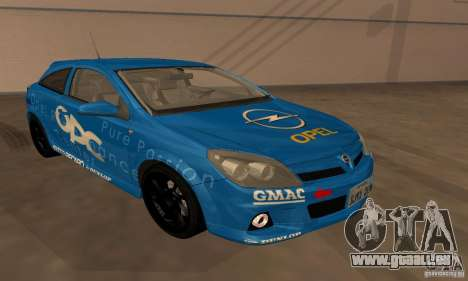 Opel Astra GTS für GTA San Andreas obere Ansicht