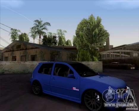 Volkswagen Golf GTi 2003 pour GTA San Andreas vue arrière