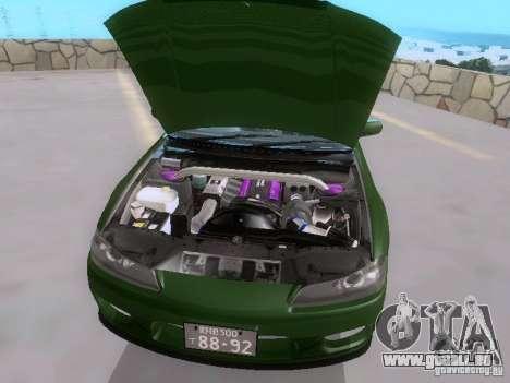 Nissan Silvia S15 drift für GTA San Andreas Seitenansicht