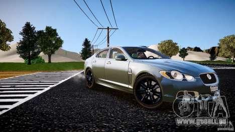 Jaguar XFR 2010 pour GTA 4 est un droit