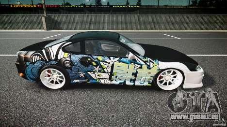 Nissan Silvia S15 Drift v1.1 für GTA 4 Seitenansicht