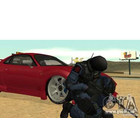 M4 für GTA San Andreas dritten Screenshot