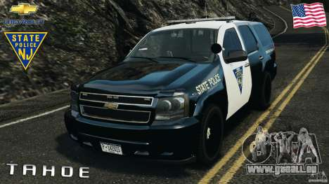 Chevrolet Tahoe Marked Unit [ELS] pour GTA 4