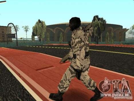 Avenger Arctique pour GTA San Andreas deuxième écran
