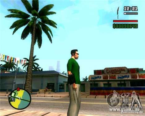 Les griffes d'un prédateur pour GTA San Andreas deuxième écran