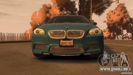 BMW 535i M-Sports für GTA 4 hinten links Ansicht