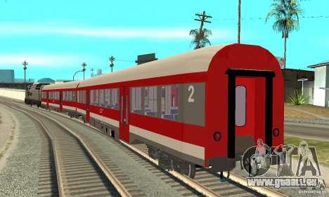 Wagen 21-31 CFR für GTA San Andreas linke Ansicht
