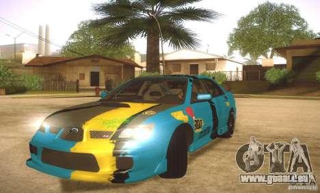 Subaru Impreza WRX STI Futou Battle für GTA San Andreas