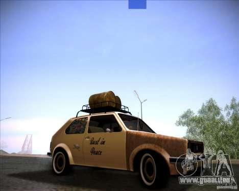 Volkswagen Golf MK1 rat style pour GTA San Andreas