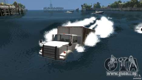 Benson boat für GTA 4 hinten links Ansicht