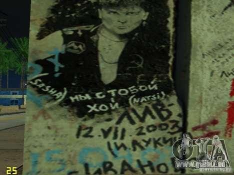 Wand der Erinnerung George Hoey für GTA San Andreas fünften Screenshot