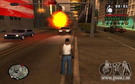 RGD-5 pour GTA San Andreas troisième écran