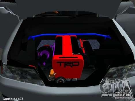 Toyota Mark II 100 1JZ-GTE pour GTA San Andreas vue arrière