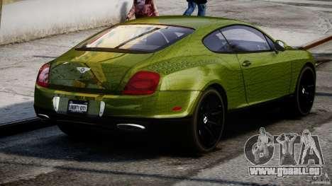 Bentley Continental SS 2010 Suitcase Croco [EPM] pour GTA 4 est un côté