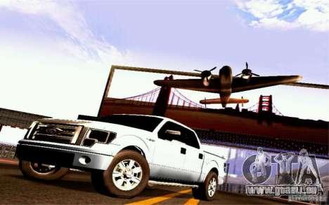 Ford Lobo 2012 für GTA San Andreas zurück linke Ansicht