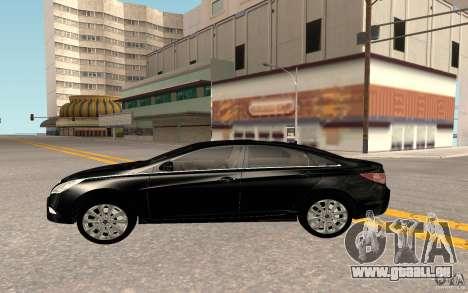Hyundai Sonata 2012 pour GTA San Andreas vue intérieure