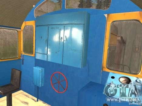 Tem2 pour GTA San Andreas vue intérieure