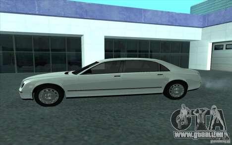 Cognoscneti von GTA 4 für GTA San Andreas linke Ansicht