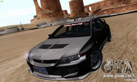 Mitsubishi Lancer EVO VIII BlackDevil pour GTA San Andreas