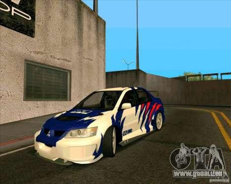 Mitsubishi Lancer Evolution 8 MostWanted für GTA San Andreas