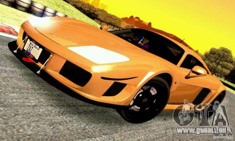 Noble M600 für GTA San Andreas zurück linke Ansicht