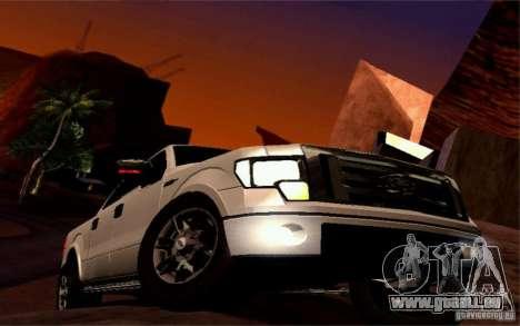 Ford Lobo 2012 für GTA San Andreas Seitenansicht