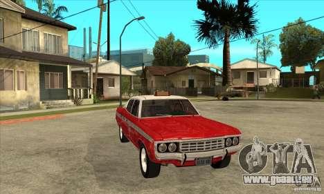 AMC Matador Taxi für GTA San Andreas Rückansicht