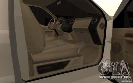 Ford F-250 pour GTA San Andreas vue de droite