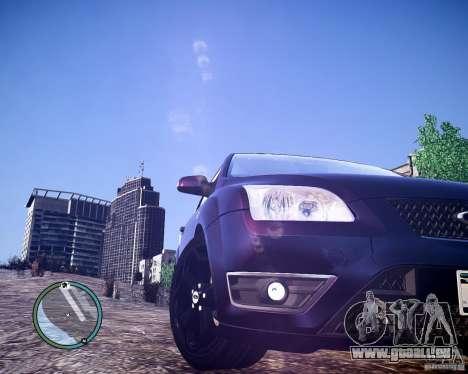 Ford Focus ST 2006 v1.1 pour GTA 4 Vue arrière de la gauche
