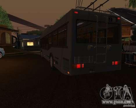 MAZ 103Т werden angeboten. für GTA San Andreas zurück linke Ansicht