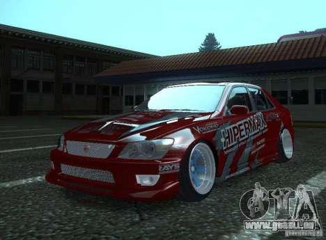 Toyota Altezza Hipermax für GTA San Andreas