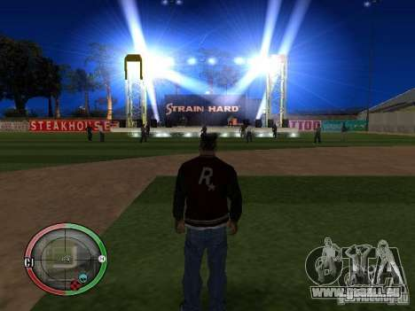 Concert de l'AK-47 v2 pour GTA San Andreas septième écran