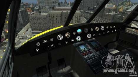 Yellow Annihilator pour GTA 4 est une gauche