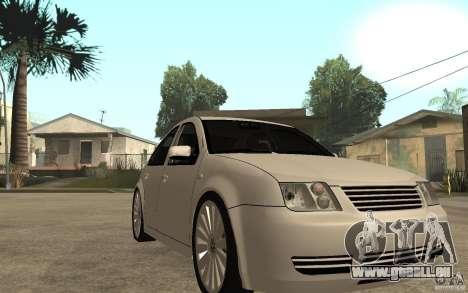 Volkswagen Bora PepeUz Edition für GTA San Andreas Rückansicht