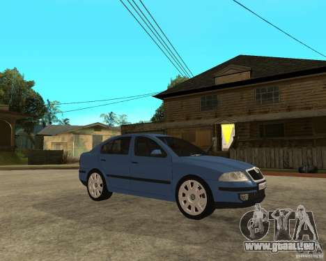 Skoda Octavia II. 2005 pour GTA San Andreas vue de droite